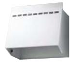 リクシル・サンウェーブ レンジフードのフード部分のみ NBHシリーズ (換気扇用フード) 間口 75cm ホワイト NBH-7027W INAX 金属幕板のみ・換気扇、横幕板は別売り [代引不可]