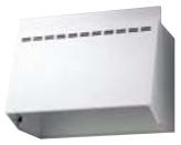 リクシル・サンウェーブ レンジフードのフード部分のみ NBHシリーズ (換気扇用フード) 間口 90cm ホワイト NBH-9027W INAX 金属幕板のみ・換気扇、横幕板は別売り [代引不可]