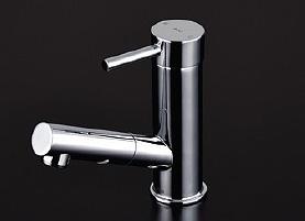 TOTO 洗面所用水栓金具 TLC32ER 台付シングル混合水栓 (ホース付きタイプ)