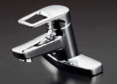 TOTO 洗面所用水栓金具 【TLHG30ERZ】(寒冷地用) 台付シングル混合水栓