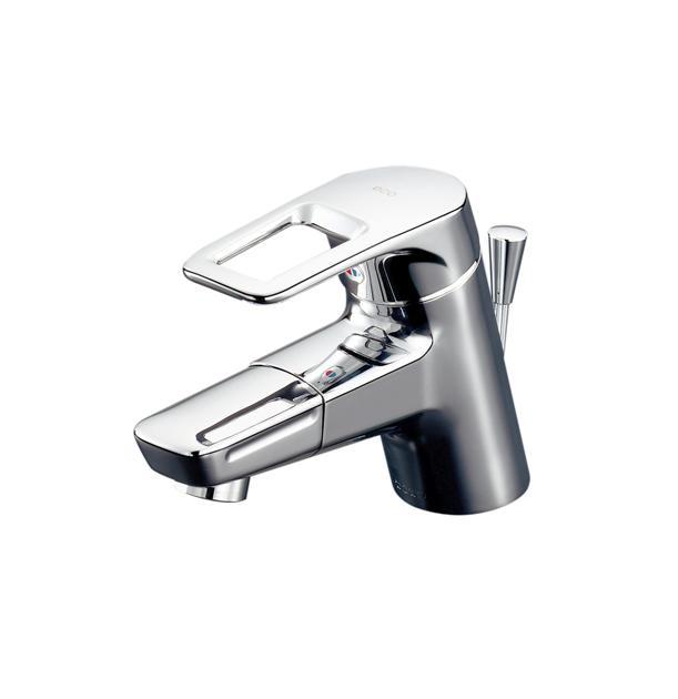 TOTO 洗面所用水栓金具【TLHG31DEFZ】(寒冷地用) エコシングル水栓 Hi-Gシリーズ シングルレバー混合栓 節水・節湯・鉛低減