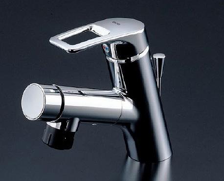TOTO 洗面所用水栓金具 【TLN32TEF】 台付シングル混合水栓(ホース付きタイプ)