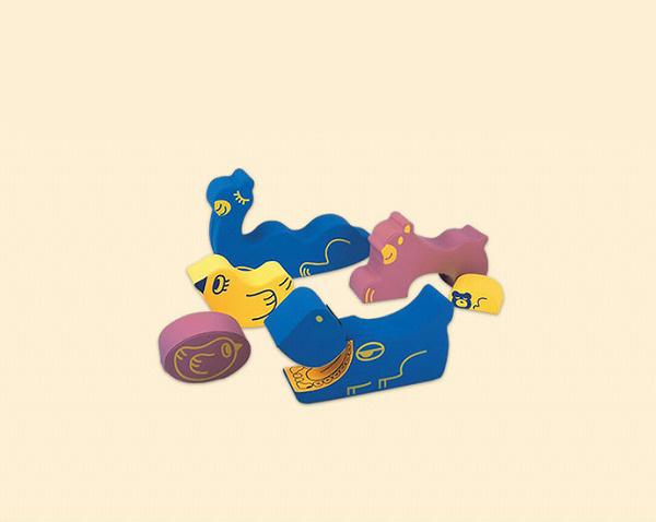YSA-01 ソフトアニマルセット 幼児用遊び場 室内遊具 動物 コンビウィズ株式会社 YSA01 [メーカー直送][代引不可]