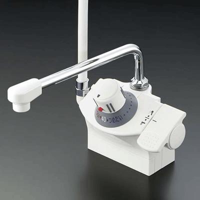 KVK KF821R デッキ形サーモスタット式シャワー シャワー左側