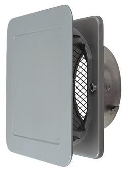 P-15YSD3-BL ベントキャップ ステンレス製 金網付・防火ダンパー付三菱 換気扇 部材 システム部材:換気扇の激安ショップ プロペラ君