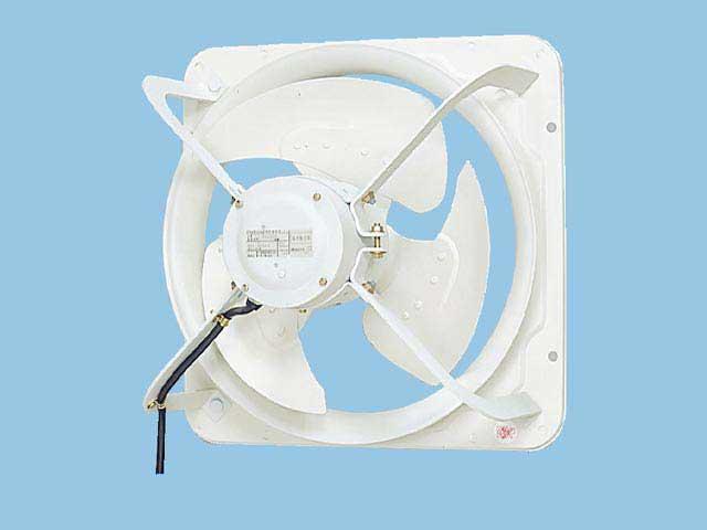 パナソニック 換気扇【FY-40GTV3】 有圧換気扇 鋼板製 低騒音形 排-給気兼用仕様 40cm 三相・200V 公称出力:200W 取付開口寸法(内寸):445mm角[新品]