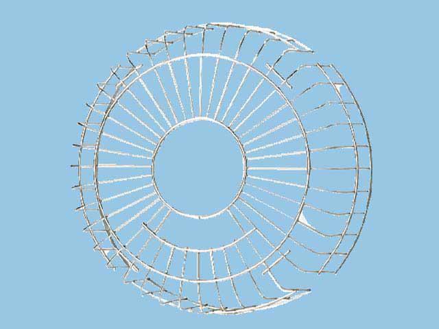 パナソニック 換気扇 保護ガード SUS製 専用部材 保護ガード 20cm用 ステンレス製【FY-GGX203】【fy-ggx203】[新品]