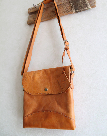 Leather Bag Craft Style Simple Tote Handbag Womens Natural