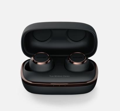 maxell/マクセル 完全ワイヤレス型イヤホンMXH-BTW1000BC(Black×Copper)2019 新製品Bluetooth Ver5.0 おしゃれ コンパクト AAC ブラック