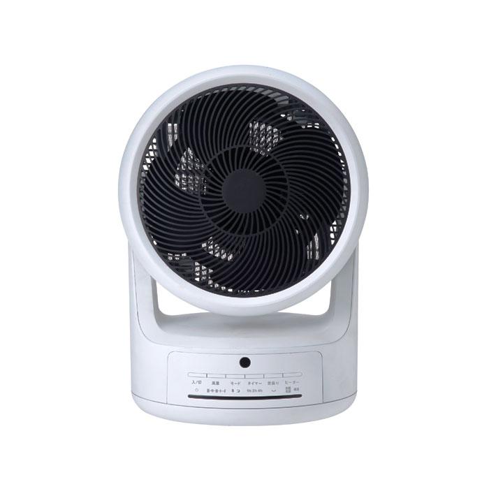 【送料無料】スリーアップ衣類乾燥機付サーキュレーター「ヒート&クール」HC-T1805WH ホワイト扇風機 卓上 熱中症対策 寝室 脱衣場 冷風 温風 花粉症対策