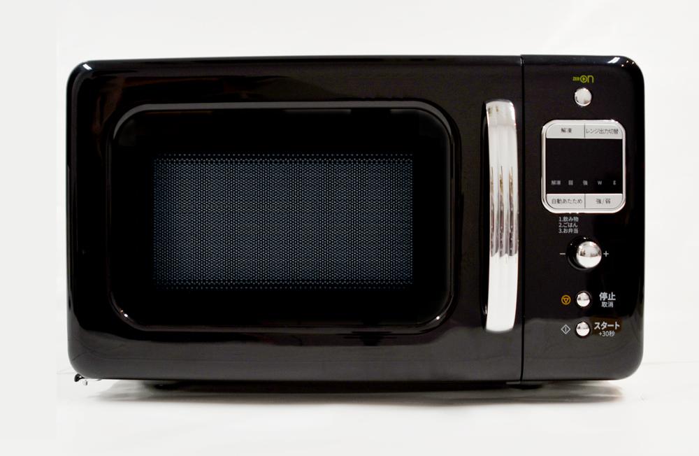 【東日本専用:50Hz】【送料無料】DAEWOO 単機能電子レンジ(18L)DM-E25AB ブラックおしゃれ レトロ シンプル かわいい