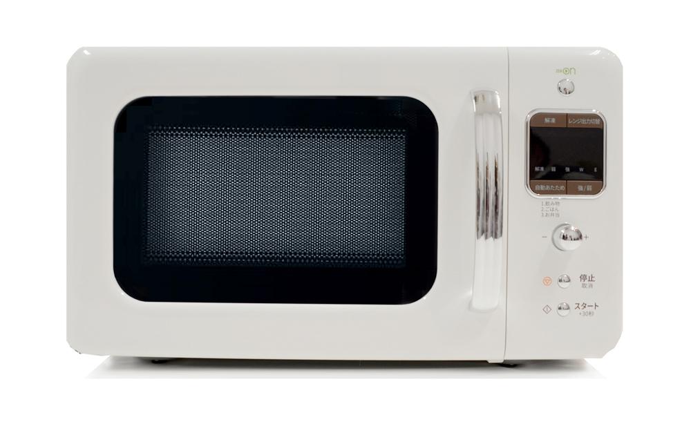 【東日本専用:50Hz】【送料無料】DAEWOO 単機能電子レンジ(18L)DM-E25AW ホワイトおしゃれ レトロ シンプル かわいい