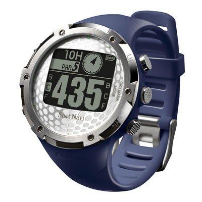 【ネイビー】ショットナビ GPSゴルフナビ ウォッチタイプ(W1-FW-NV) 腕時計型ゴルフナビGPSゴルフナビゲーター【高感度GPS搭載・フェアウェイナビ機能】簡単操作・シンプル機能