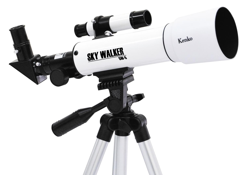Kenko/ケンコートキナー天体望遠鏡 SKY WALKER SW-0 ホワイト屈折式 口径50mm 天体・地上観測スカイウォーカー 自由研究