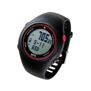 【送料無料】ランニングGPSウォッチ Actino(アクティノ) WT300(ヴァーミリオン)走行速度/積算距離/走行距離/走行時間/平均速度/最高速度/時刻表示/カロリー計算/ジョギング/ランナー/マラソン