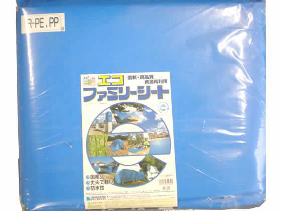 萩原工業/エコファミリーシート #3000 ブルー 10×10m