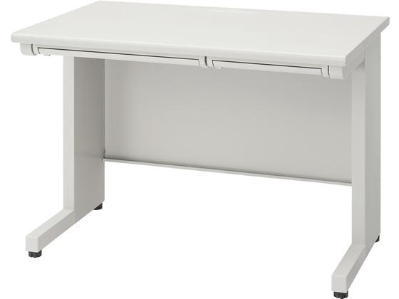ライオン/オフィスデスク 平机 W1000×D700×H700 ニューグレー