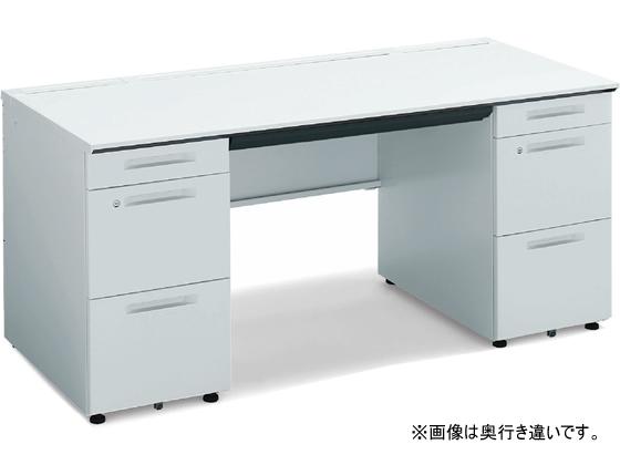 コクヨ/iSデスク 両袖デスク A4タイプ W1600D650 ホワイト
