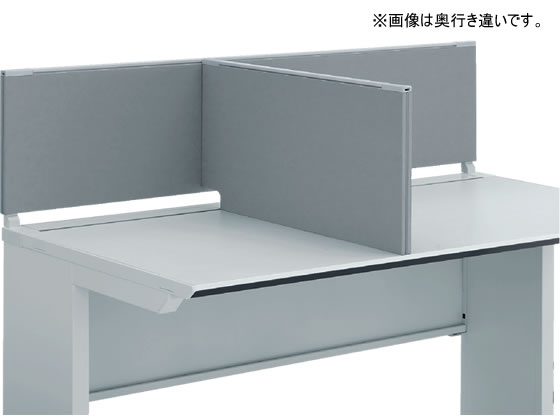 コクヨ/iSデスク デスクトップパネル サイドパネル D700 ホワイトグレー