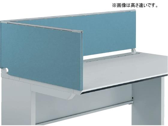 コクヨ/iSデスク デスクトップパネル エンドパネル H500*D750ホワイトブルー