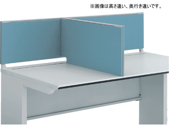 コクヨ/iSデスク デスクトップパネル サイドパネル H500*D600ホワイトブルー