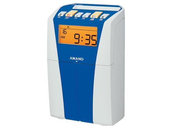 アマノ/電子タイムレコーダー ブルー/CRX-200BU