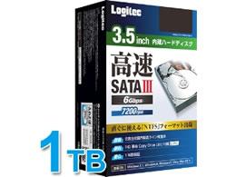 【納期約3日】【税込2500円以上で送料無料】 ロジテック/内蔵型ハードディスク3.5インチ 1TB/LHD-D1000SAK2