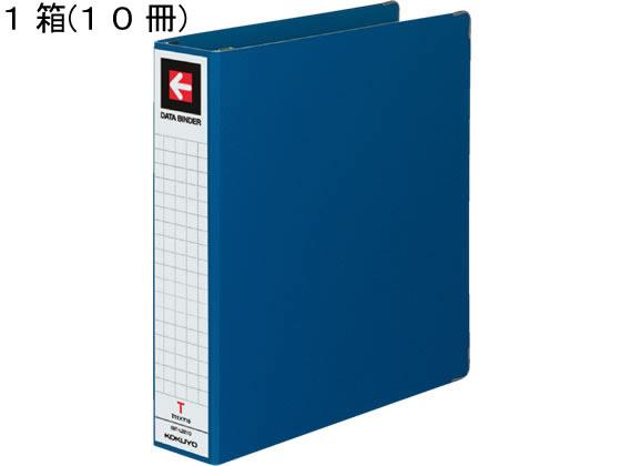 コクヨ/データバインダーT(バースト用・ワイド)T11×Y10 青 10冊