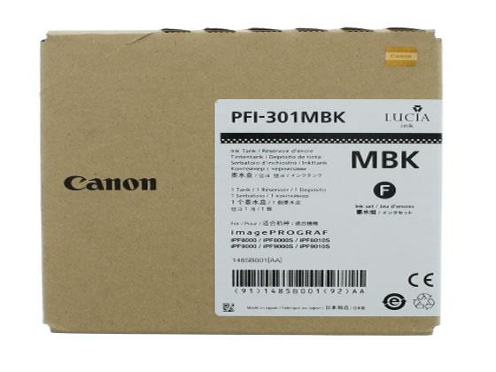 キヤノン/インクタンク マットブラック PFI-301MBK/1485B001