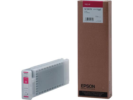 エプソン/インクカートリッジ マゼンタ/SC3M70