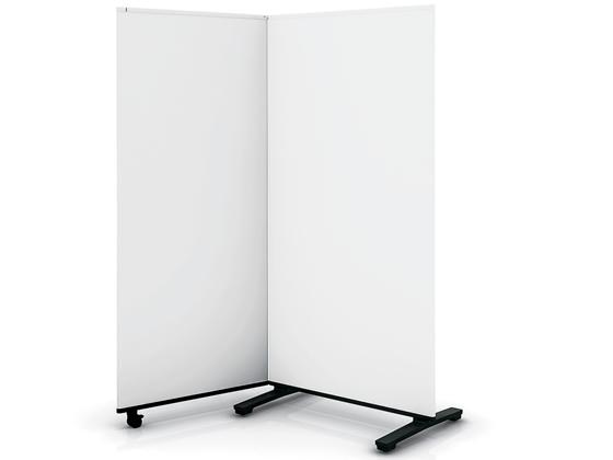 コクヨ/ホワイトボードスクリーン 2連 W1685×H1800