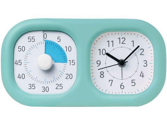 税込3000円以上で送料無料 ソニック トキ サポ 時っ感タイマー 時計プラス 低価格 市場 LV-3521-MB ミントブルー