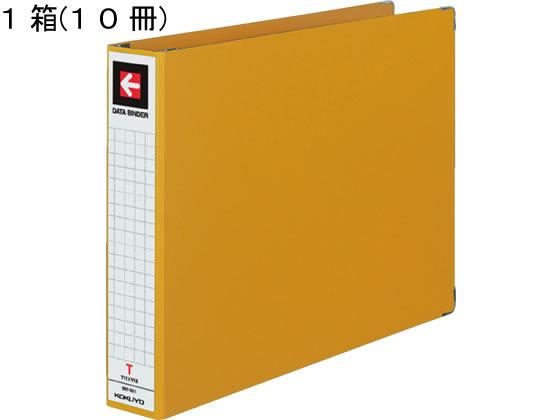 コクヨ/データバインダーT(バースト用・ワイド)T11×Y15 黄10冊