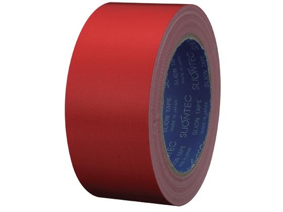 スリオンテック/カラー布テープ 赤 50mm×25m 30巻/NO.0320