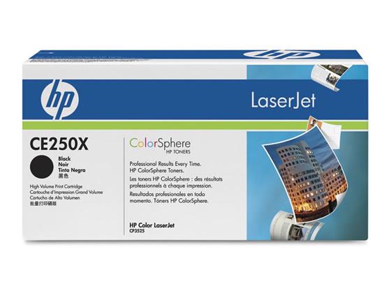 HP/プリントカートリッジ CE250X 黒/CE250X