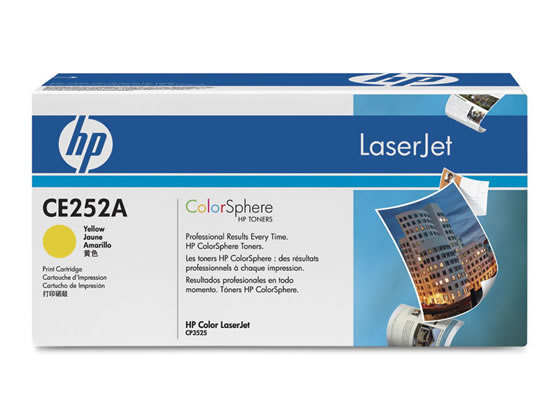 HP/プリントカートリッジ CE252A イエロー/CE252A