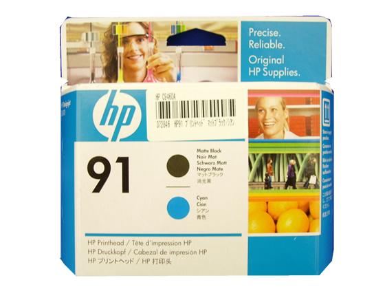迅速な対応で商品をお届け致します 納期約5日 送料無料限定セール中 税込3000円以上で送料無料 HP プリントヘッド HP91 シアン マットブラック C9460A