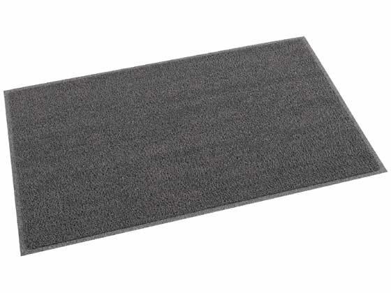 テラモト/ケミタングルソフト2 屋外用マット 900×1500mm 灰色