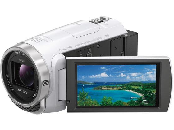 ソニー/デジタルHDビデオカメラ ハンディカム ホワイト/HDR-CX680 W