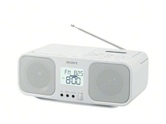ソニー/CDラジカセ ホワイト/CFD-S401W