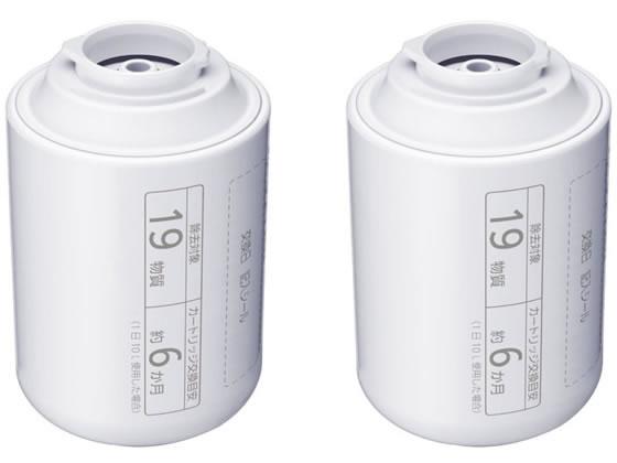 パナソニック/浄水器 交換用カートリッジ(2個入)/TK-CJ23C2