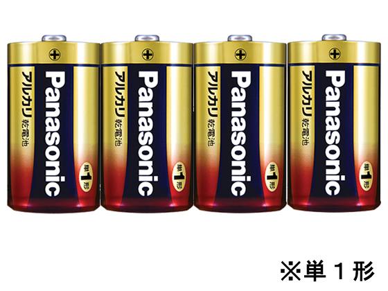 税込3000円以上で送料無料 スーパーセール期間中ポイント5倍 パナソニック アルカリ乾電池単1形1パック4本 LR20XJ 定番キャンバス 往復送料無料 4SW
