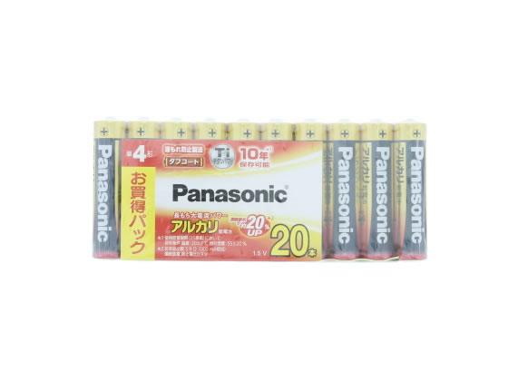 半額 税込3000円以上で送料無料 スーパーセール期間中ポイント5倍 パナソニック アルカリ乾電池単4形1パック 20本 超特価SALE開催 20SW LR03XJ