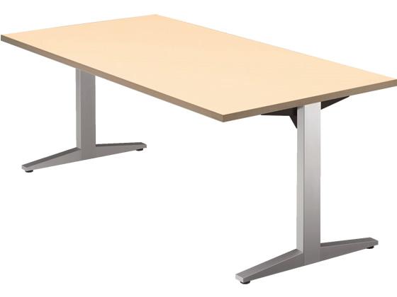 プラス/STAGEO テーブル W1800*D900 ホワイトメープル/ST-180TR