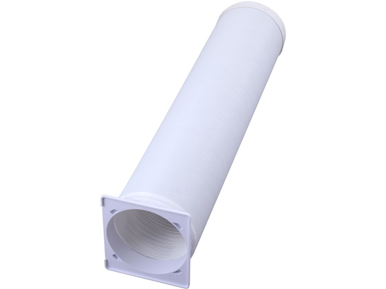 スイデン/延長排気ダクト φ160×3m/SS-HD-160-3M