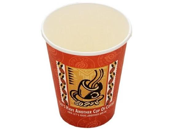 税込3000円以上で送料無料 スーパーセール期間中ポイント5倍 入荷予定 東罐興業 厚紙カップ 50個 コーヒー色 レッツコーヒー280ml SMT-280 ブランド激安セール会場