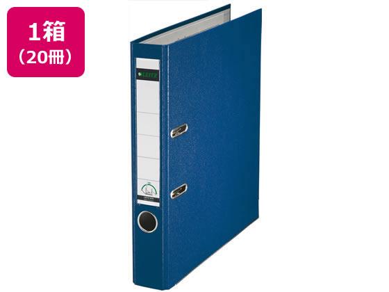 ライツ/レバーアーチファイル A4タテ 背幅55mm ブルー 20冊/1015-50-35