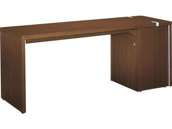 コクヨ/マネージメントN650 サイドテーブル W1800 ブラウン