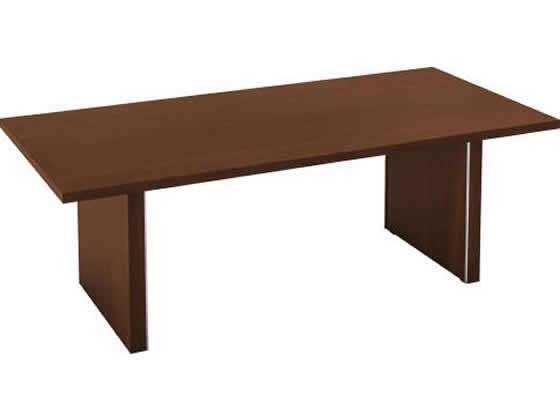コクヨ/マネージメントN650 会議テーブル W2100 ブラウン