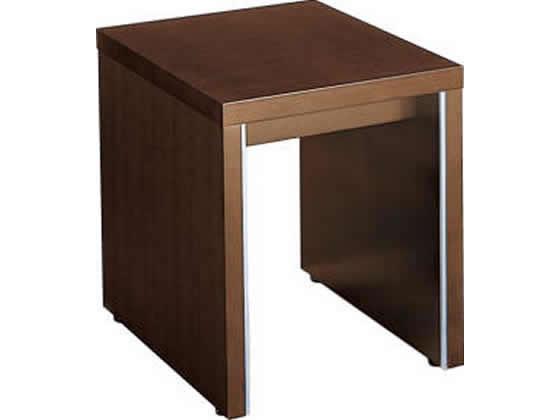 コクヨ/マネージメントN650 応接サイドテーブル W450 ブラウン